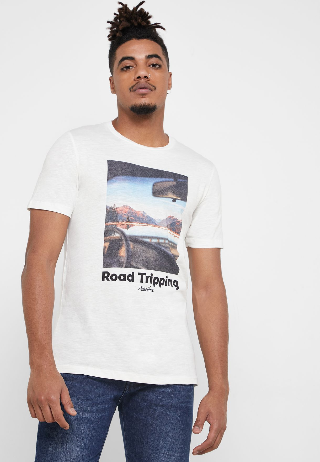 Road Tripping Slim Fit T-Shirt