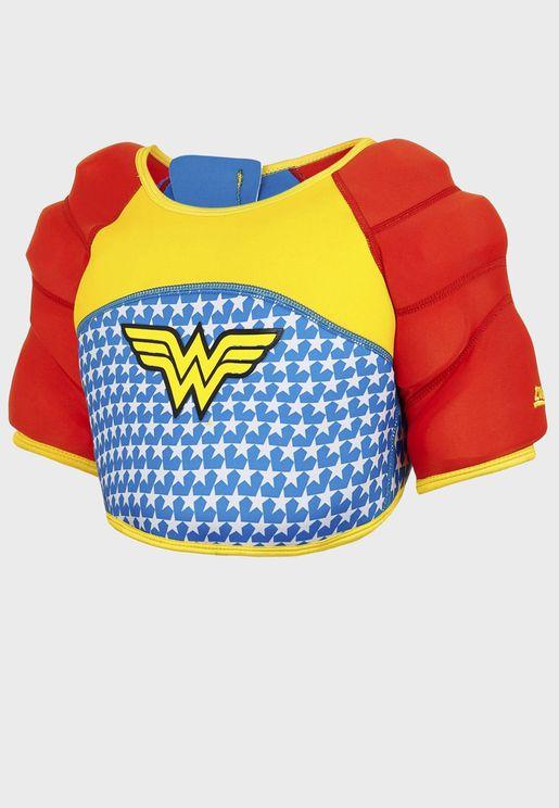 Kids Wonder Woman Water Wings Vest