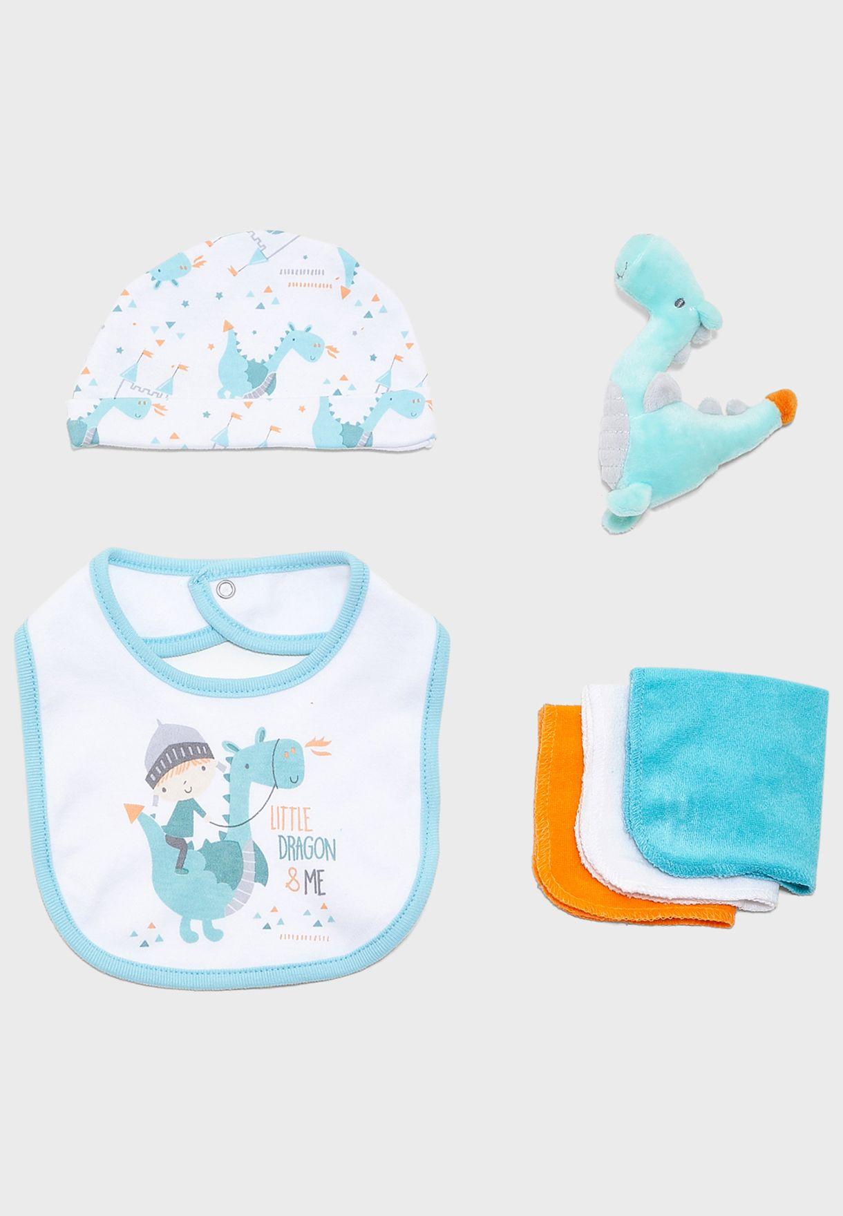 Infant 10 Piece Dragon Gift Set