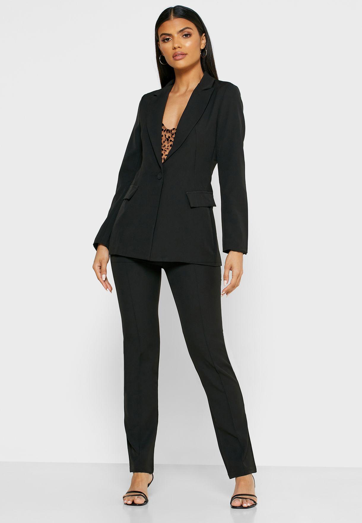 2 In 1 Blazer Pants Set