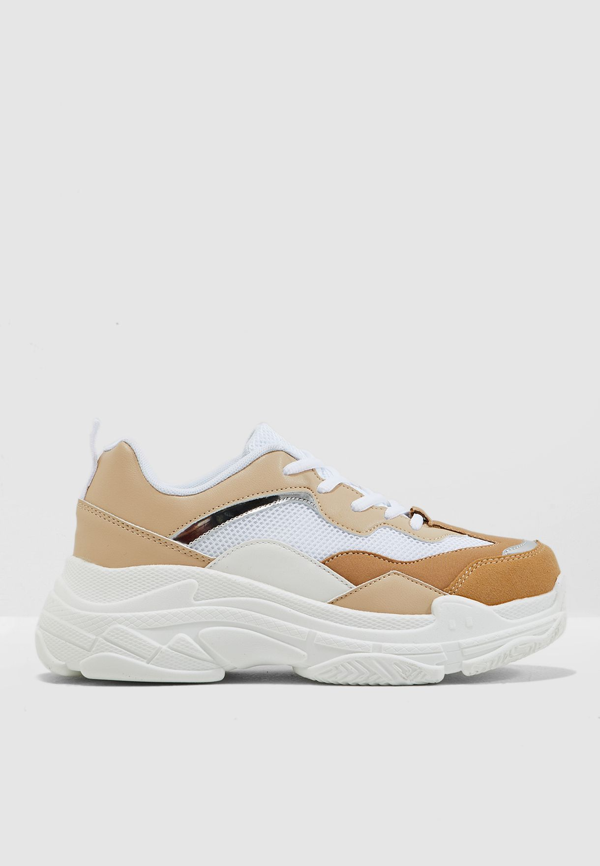 Colourblock Chunky Sneakers
