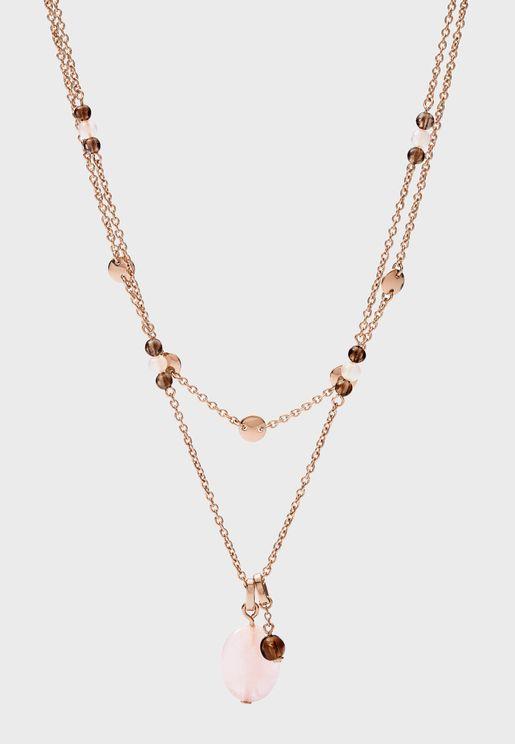 Pearl Drop Pendant Necklace
