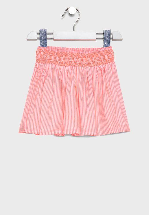 Infant Embroidered Skirt