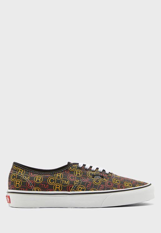 حذاء مطبع باربطة