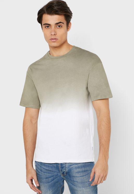 Masa Dip Dye Crew Neck T-Shirt