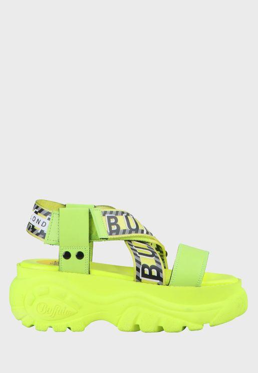 Bo Multi Strap Platform Sandal