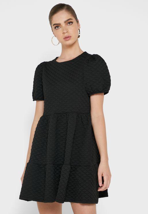 Frill Smocked Dress