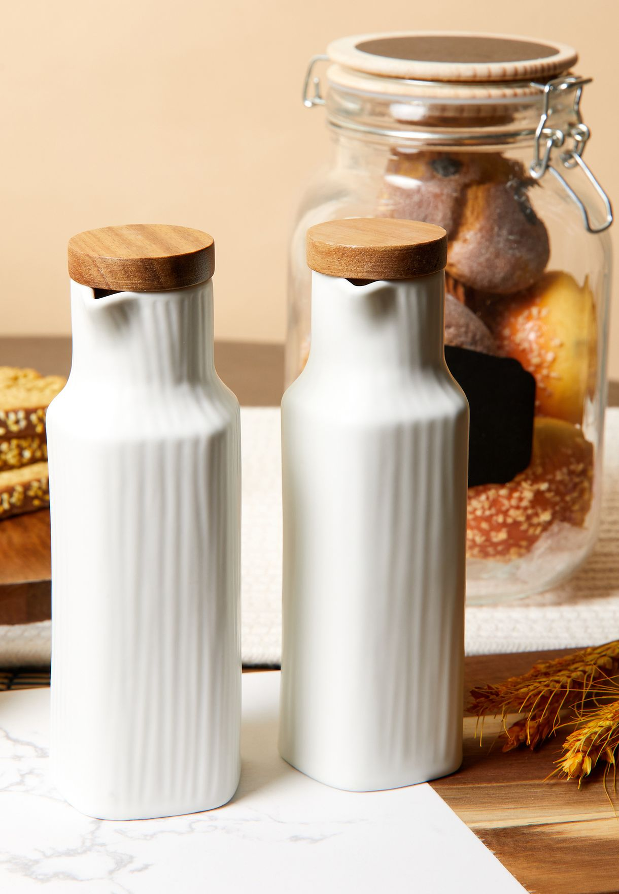 Set Of 2 Oil Pourers