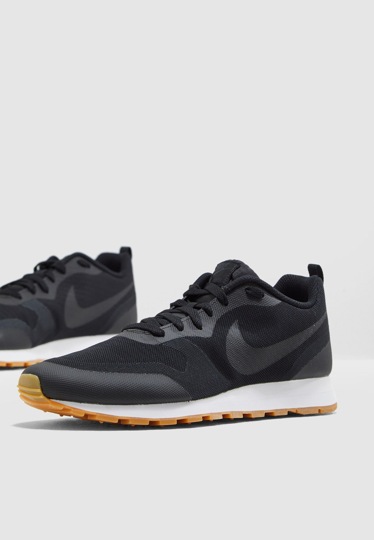 Buy Nike Black Md Runner 2 19 for Men in Mena, Worldwide, Globally