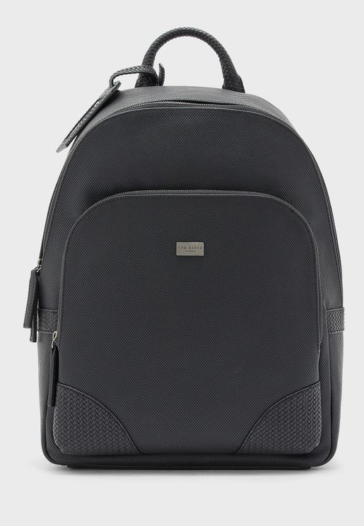 Riviera Textured Rucksack Backpack