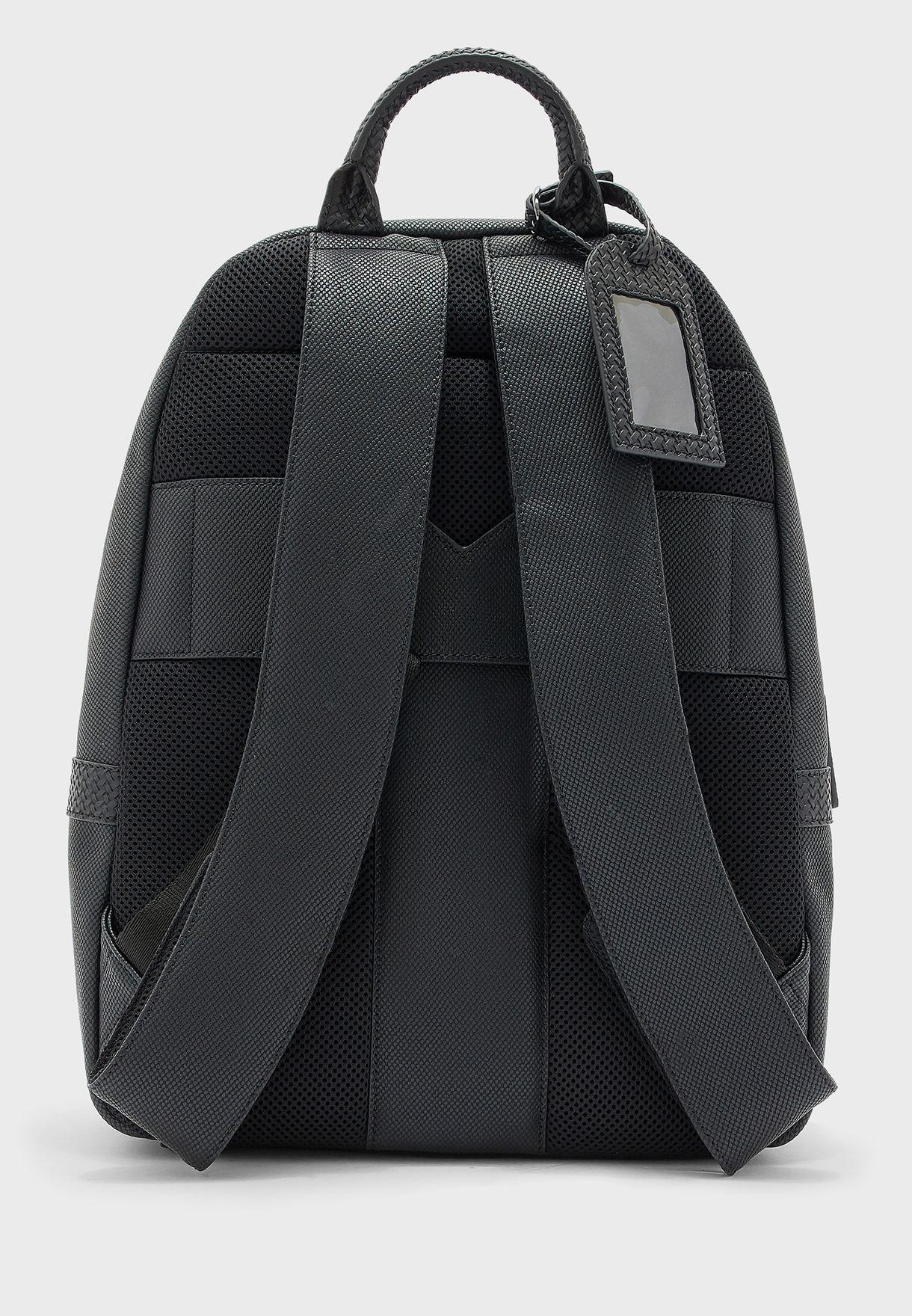 Riviera Textured Rucksack Backpack