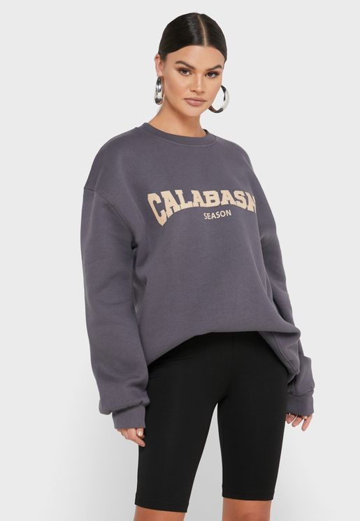 Graphic Oversized Sweatshirt