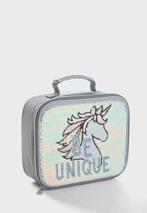 Kids Unicorn Lunch Tote