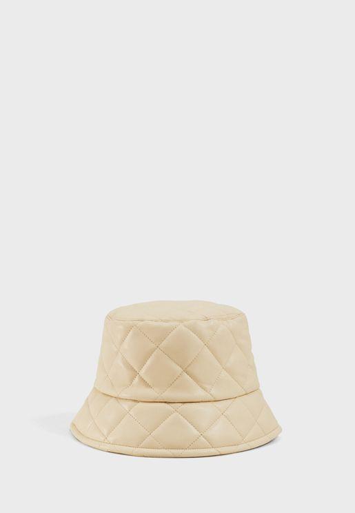 قبعة جلد كاجوال