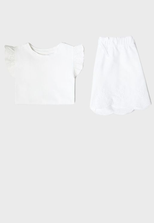 Kids Essential T-Shirt + Pyjama Set
