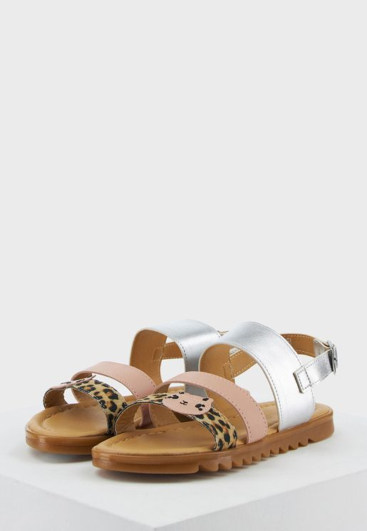 Youth Wide Strap Sandal