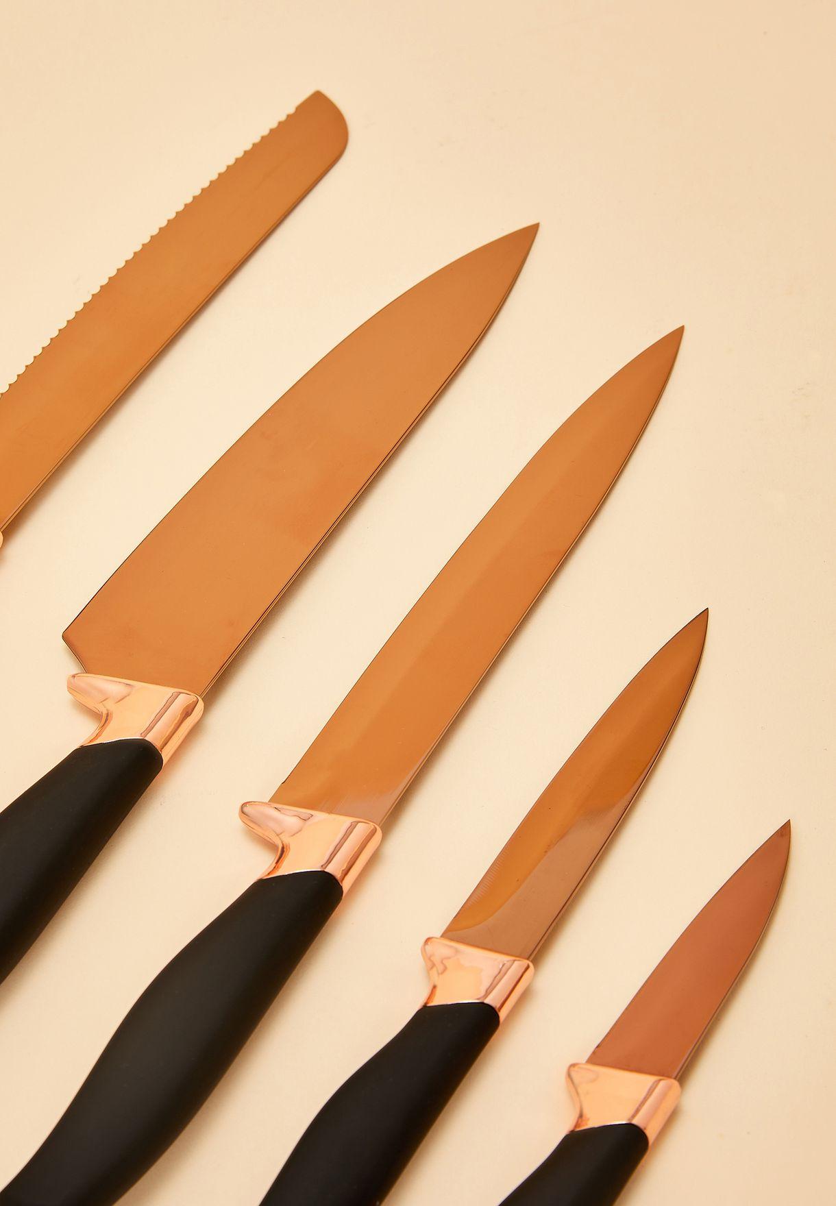 5 Pack Knife Set