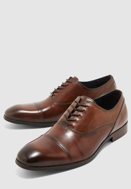 Drafted Oxford Lace Ups