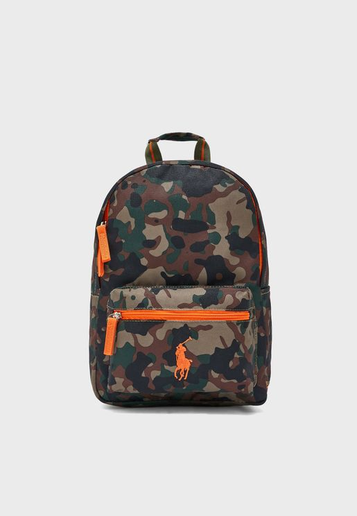 Kids Camo School Backpack