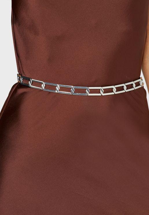 Wide Link Chain Belt