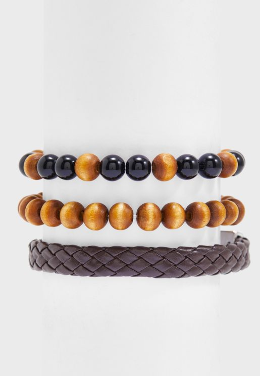 3 Pack Assorted Bracelets