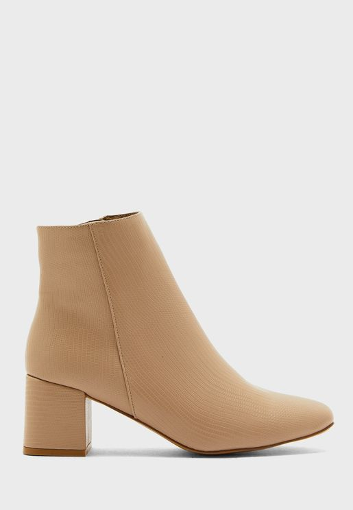 Byrony 2 Mid Heel Ankle Boot