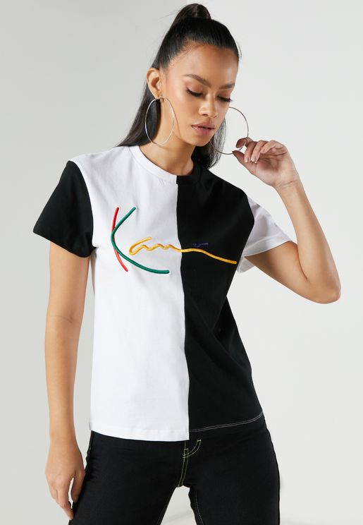 Signature Color Block T-Shirt