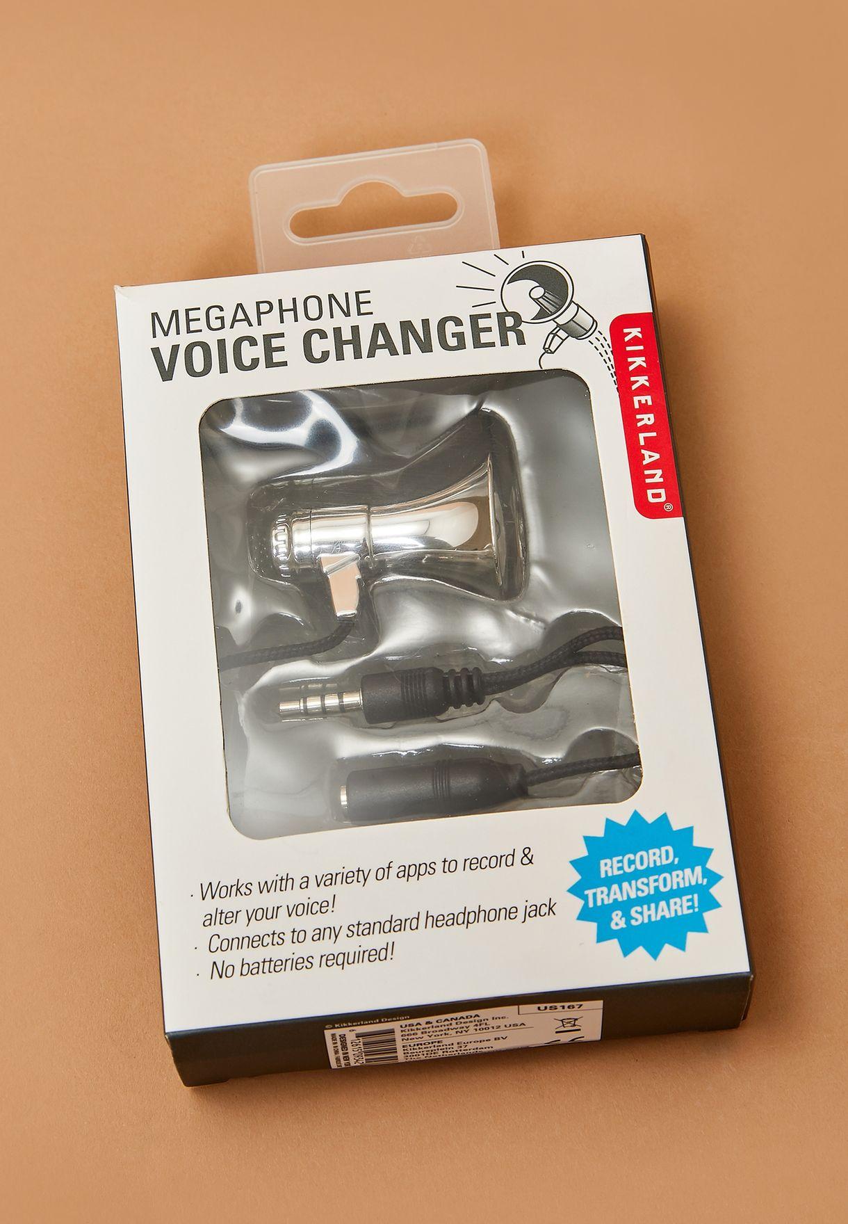 Megaphone Voice Changer