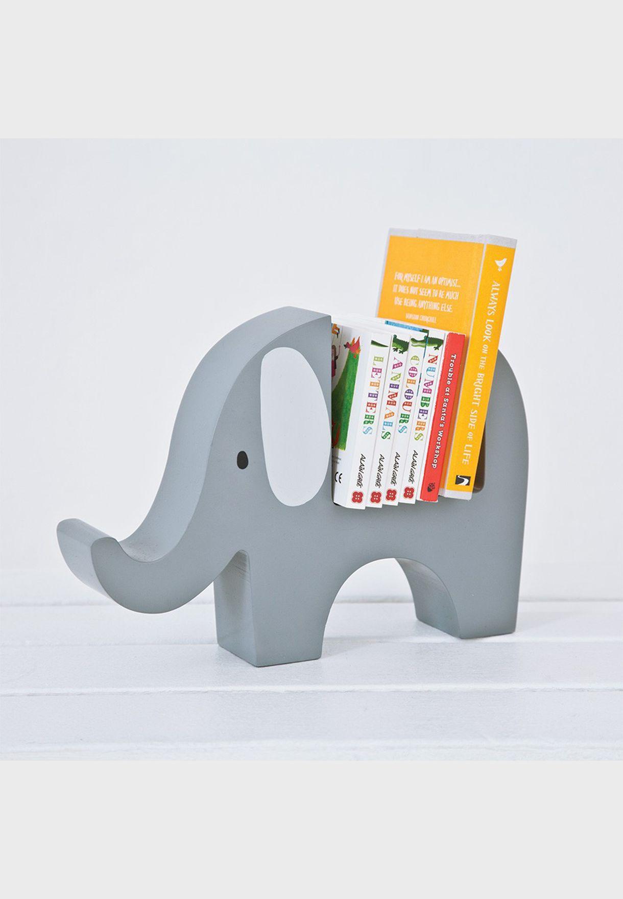 حامل للكتب بشكل فيل