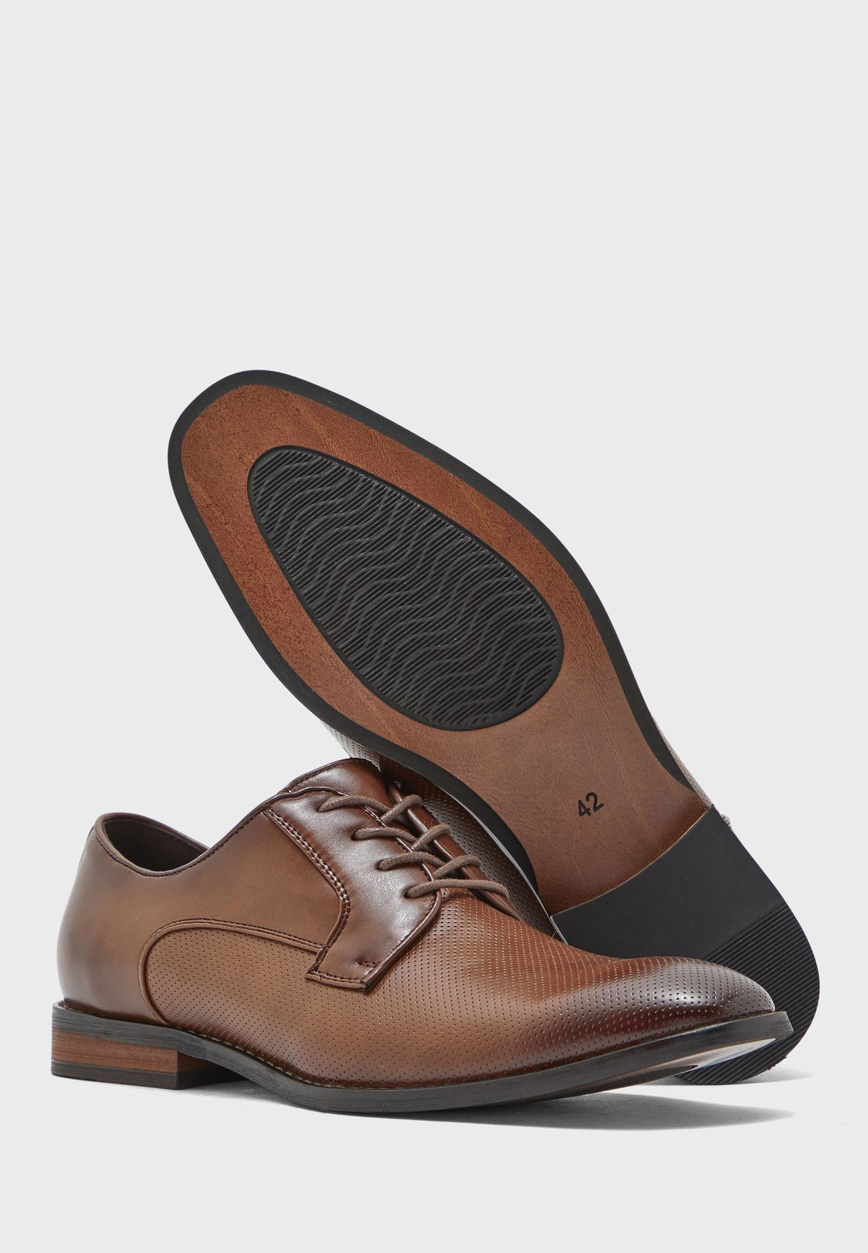 Classic Burnished Formal Lace Up