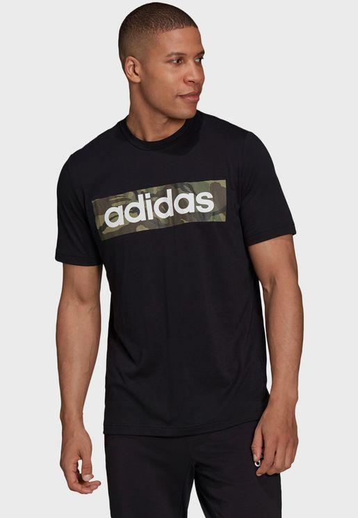 Design 2 Move Camo Graphic T-Shirt