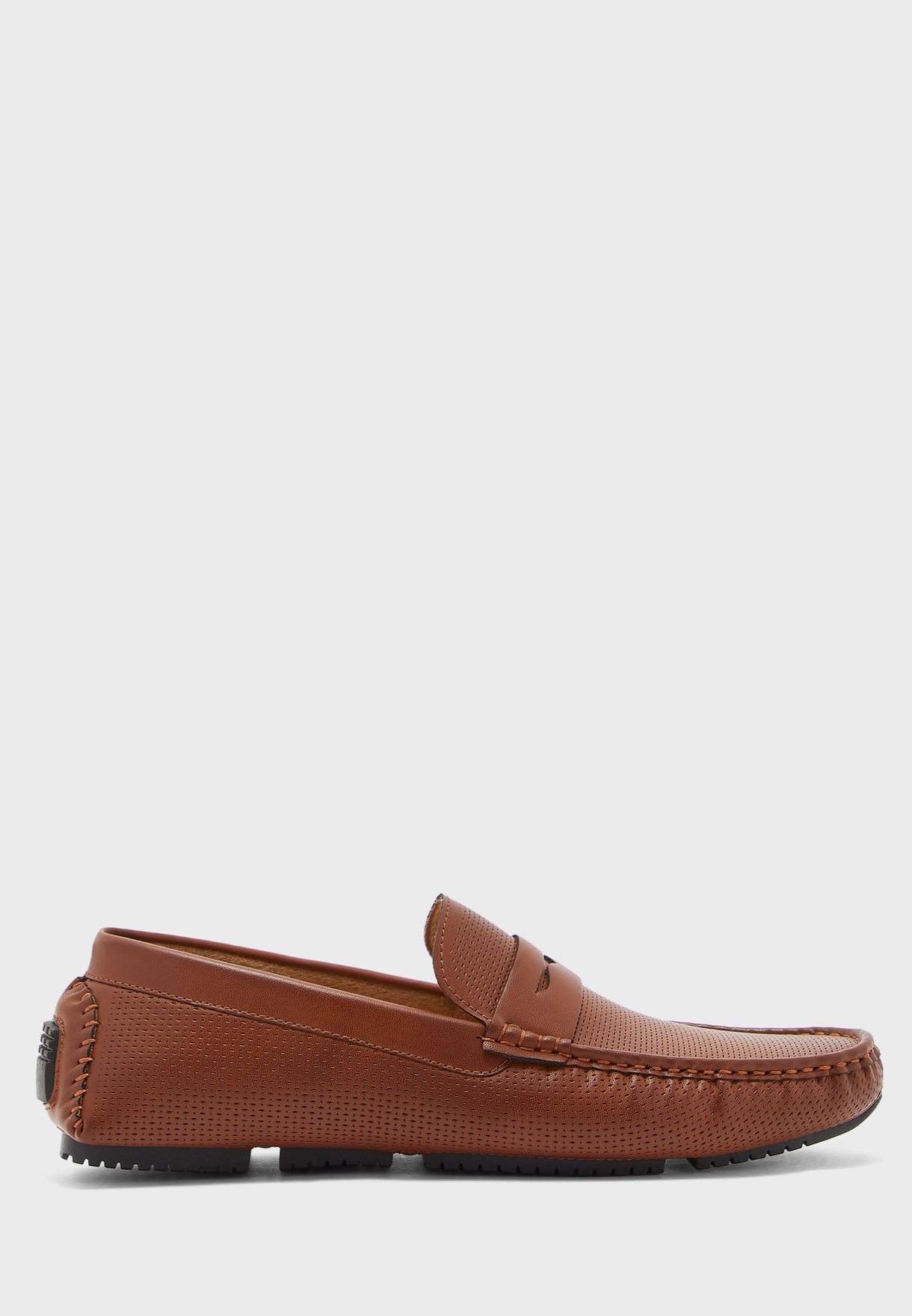 Perforated Loafers