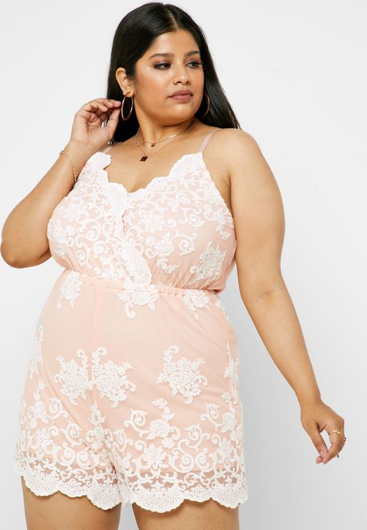 best selection of 2019 online for sale sale uk Plus Size Jumpsuits and Playsuits for Women | Plus Size ...