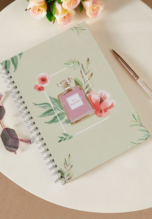 A4 Perfume Notebook