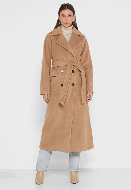 معطف بصفي أزرار