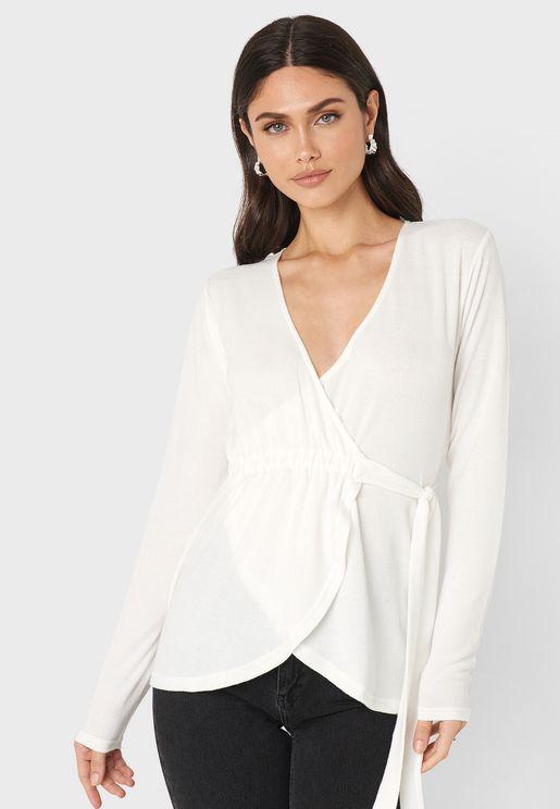 Overlay Sweater