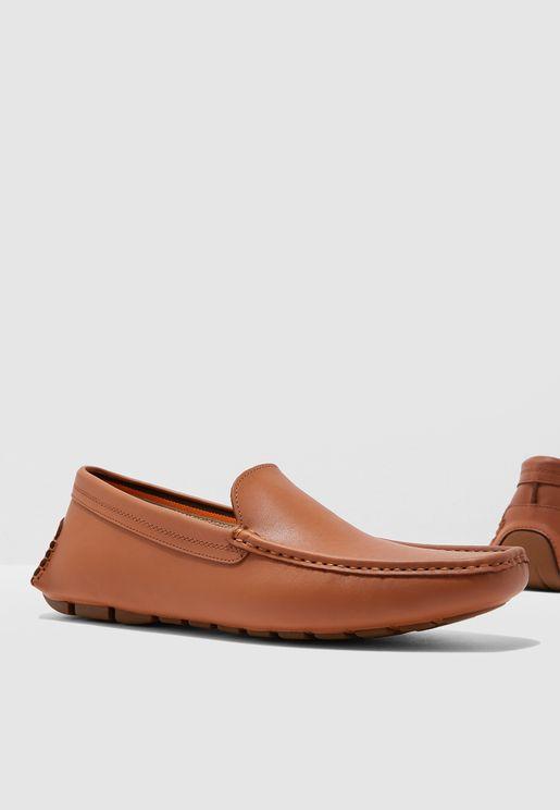 حذاء لوفر بنمط أبرون