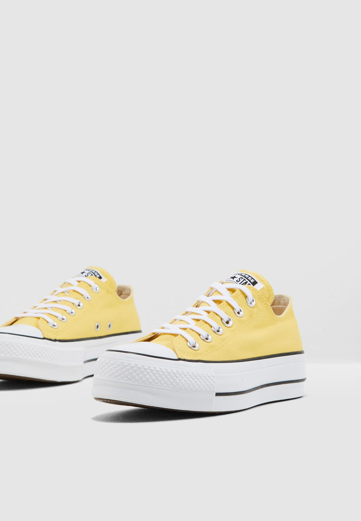 0a5f2460449092 Shop Converse yellow Chuck Taylor All Star Lift 564385C-740 for ...