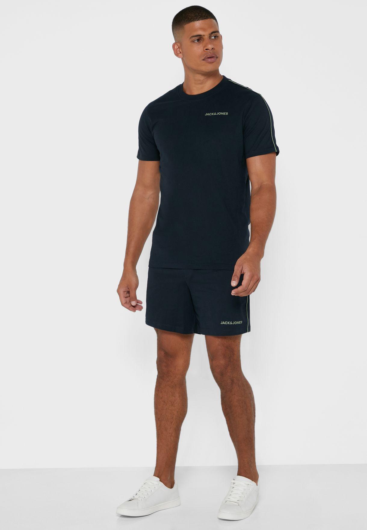 Logo T-Shirt + Shorts Set