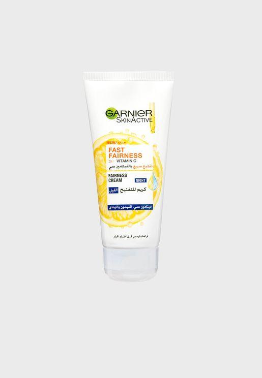 Skin Active Night Cream with Vitamin C