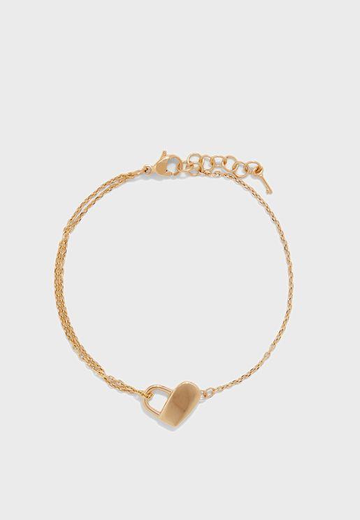 1580069 Soulmate Heartlock Bracelet