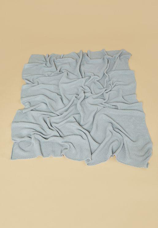 بطانية محبوكة