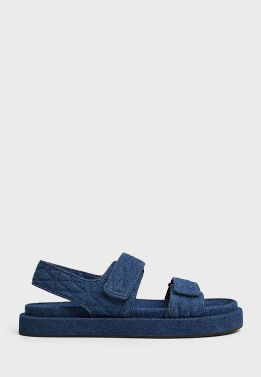 Cat1 Low Heel Sandal