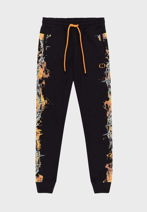 Barb Flame Sweatpants