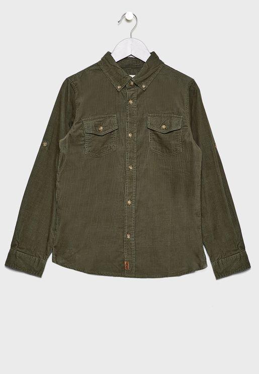 Kids Button Down Shirt
