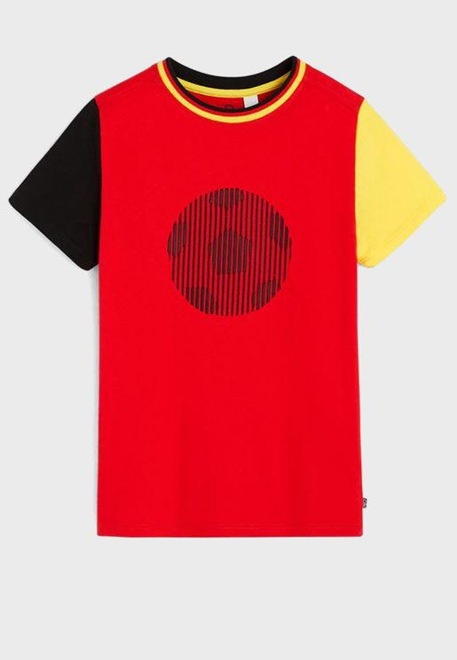 Youth Color Block T-Shirt