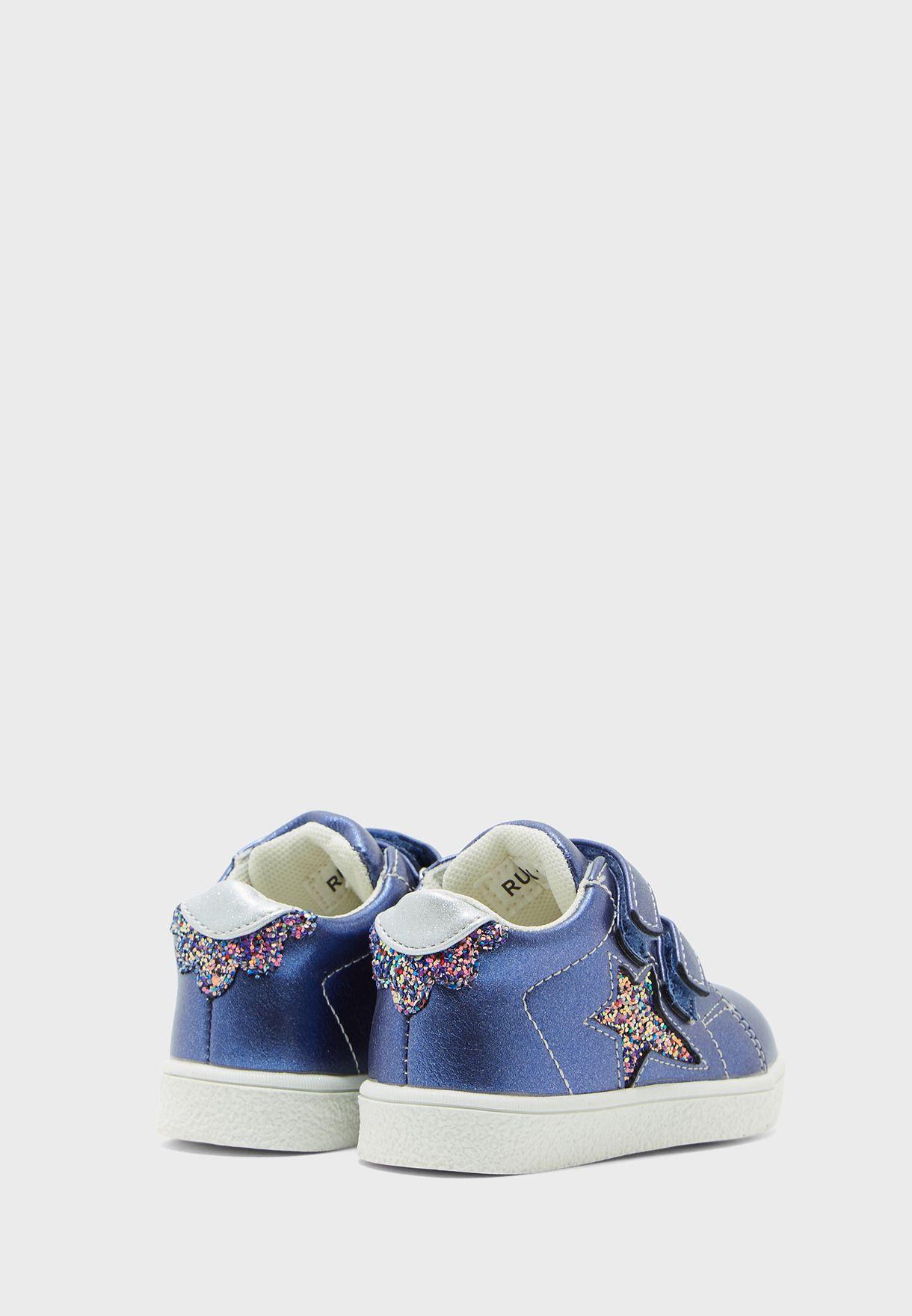 Kids Double Strap Sneaker