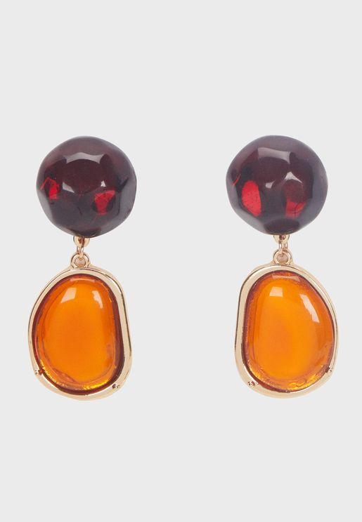 Terracota Drop Earring