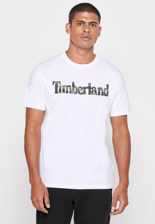 Kennebec River Camo Linear T-Shirt