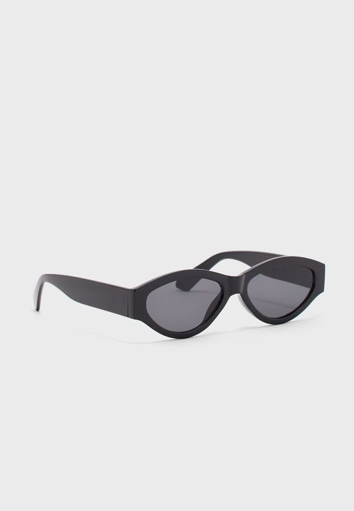 Oval Tinted Full Frame Sunglasses
